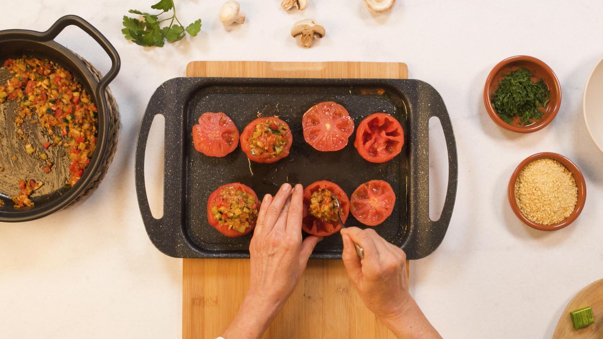Truco cómo vaciar tomates