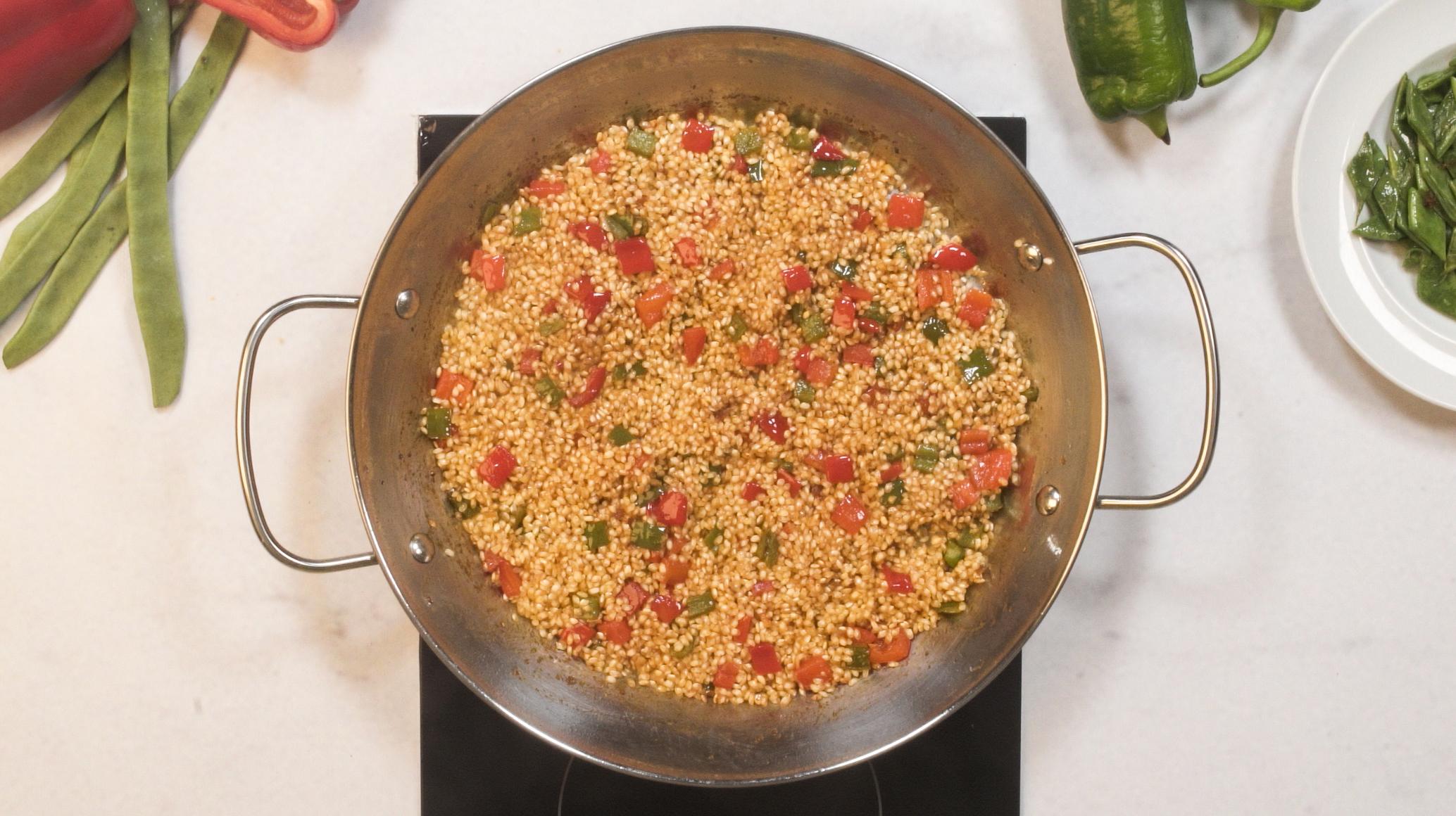 Truco cantidad de arroz por persona
