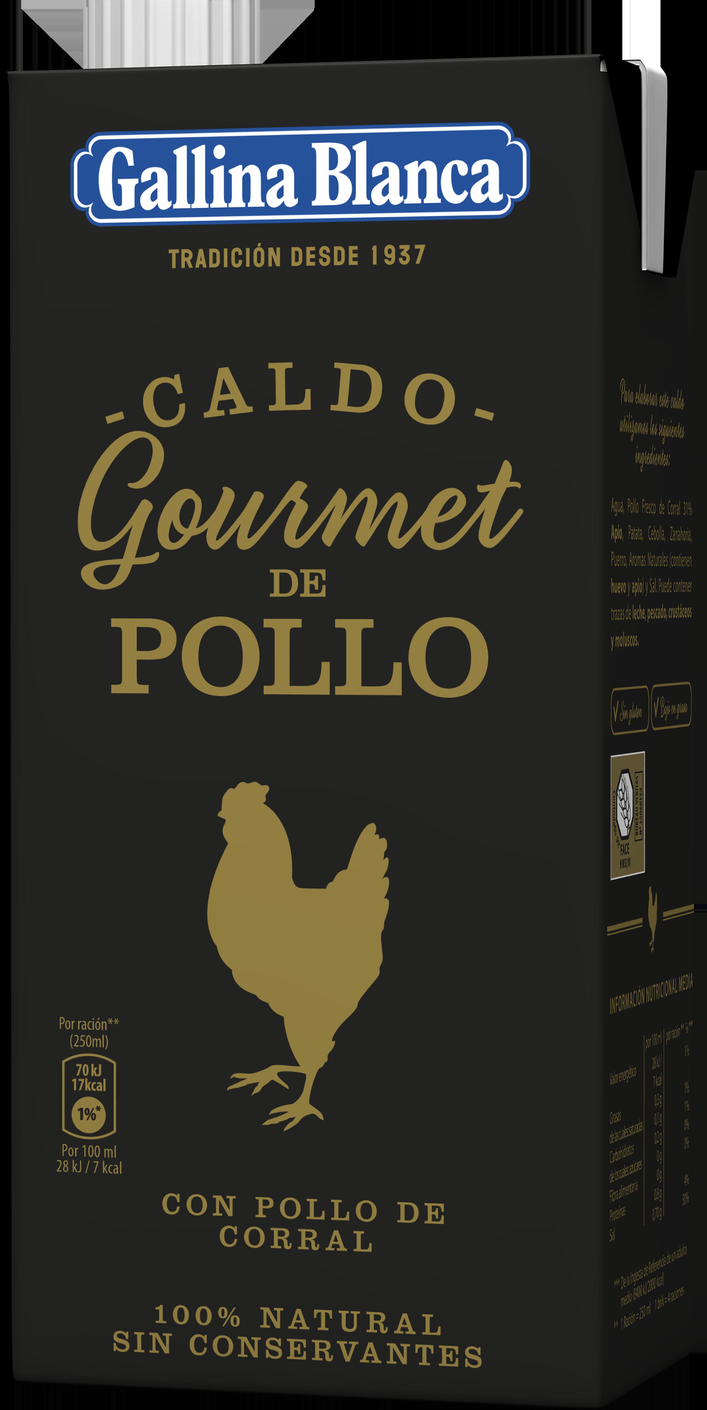 Caldo Gourmet de Pollo