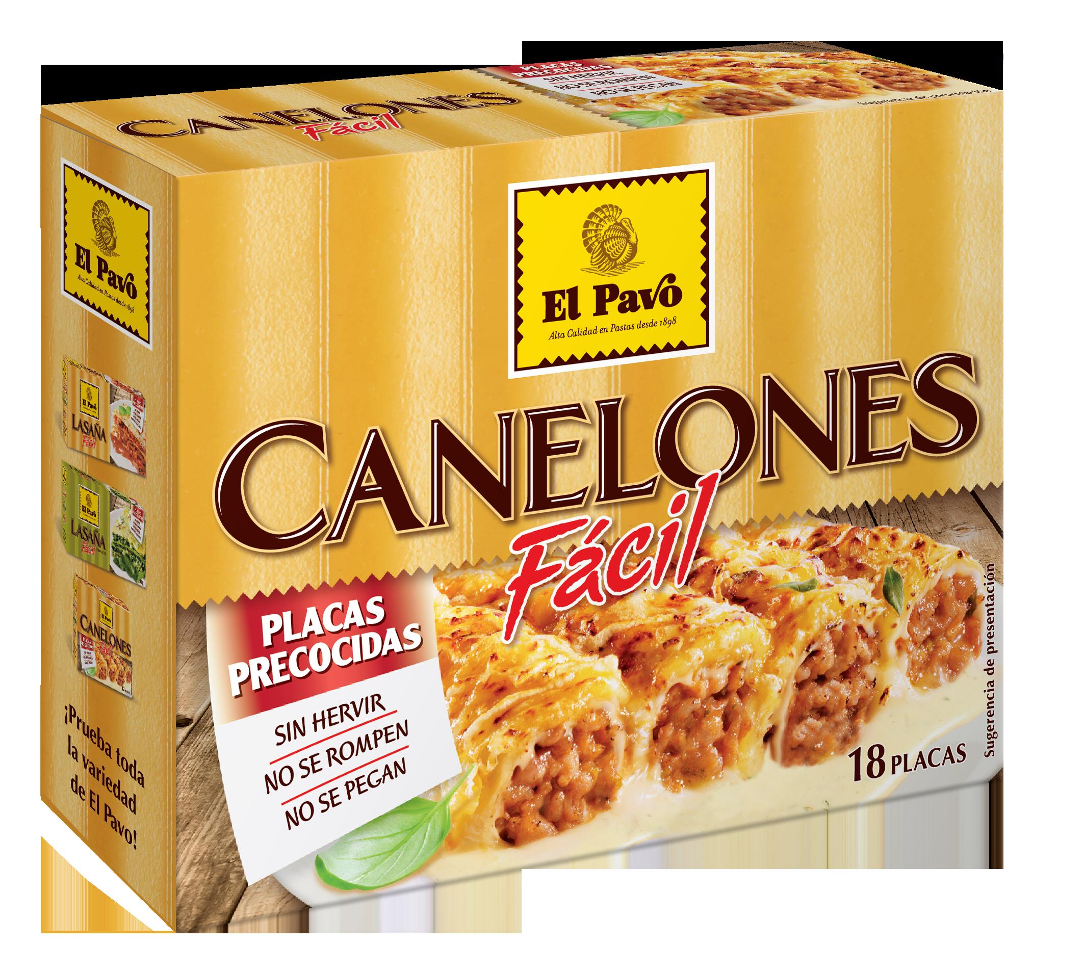 Canelones Fácil El Pavo