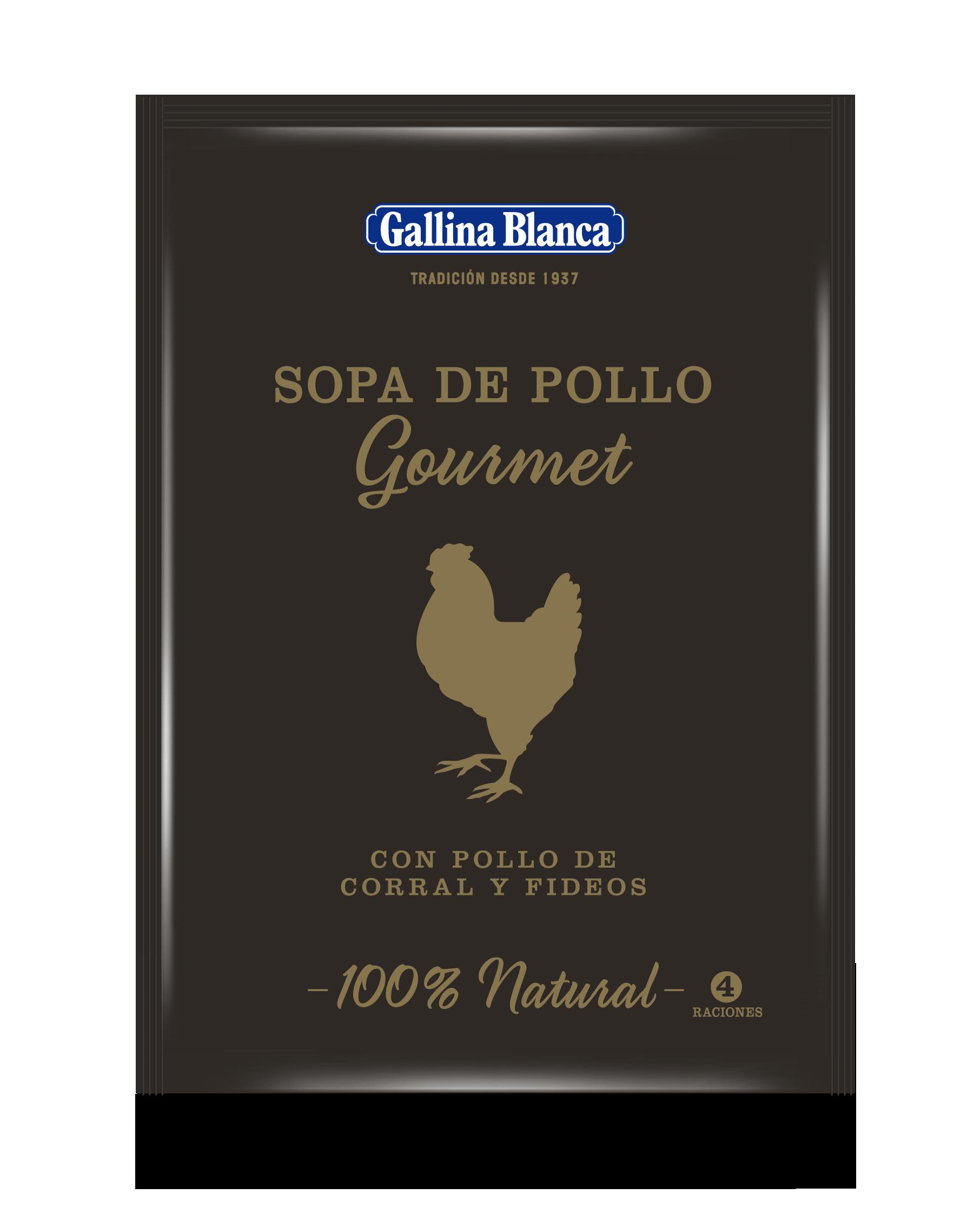 Sopa Gourmet Pollo de Corral