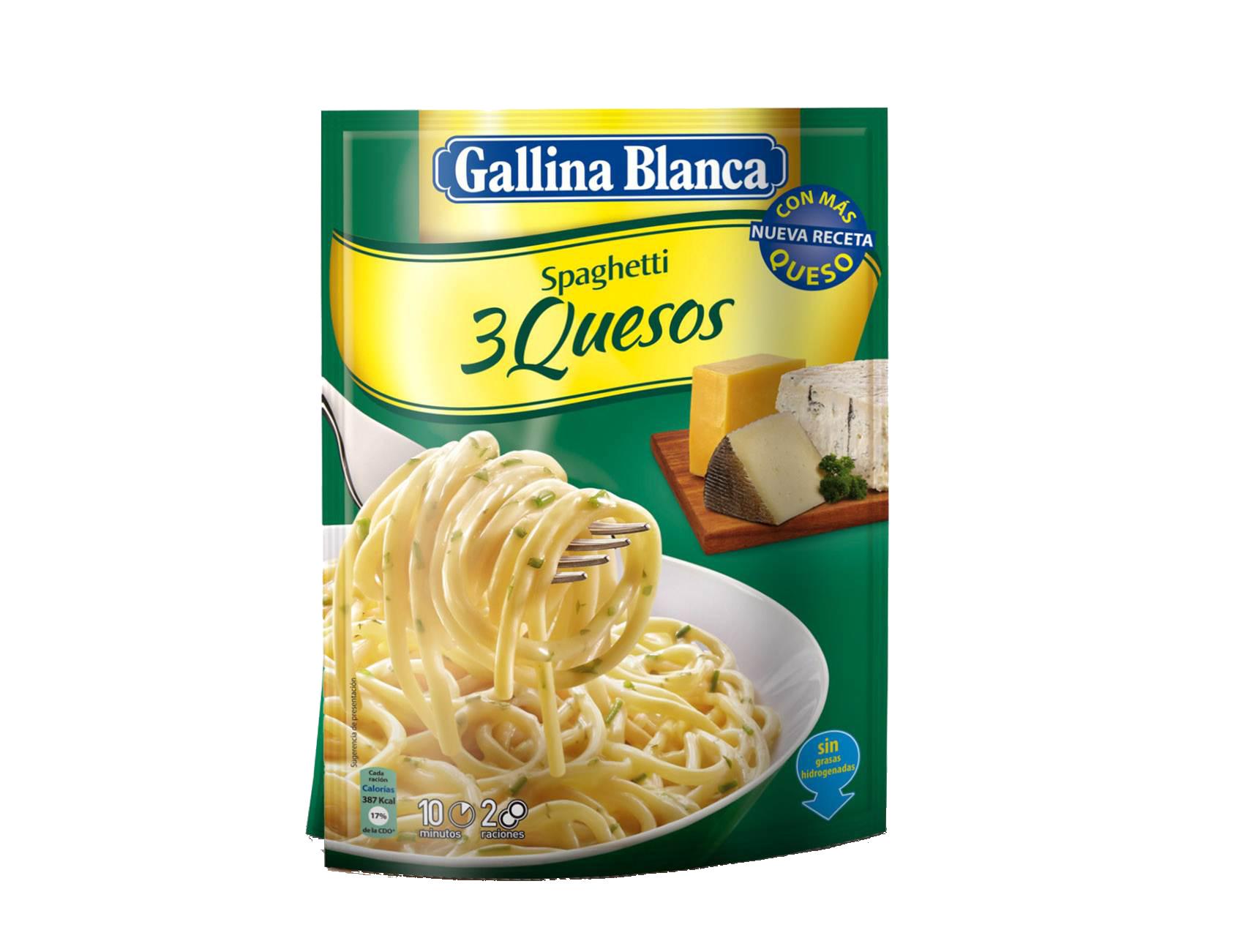Spaghetti 3 Quesos