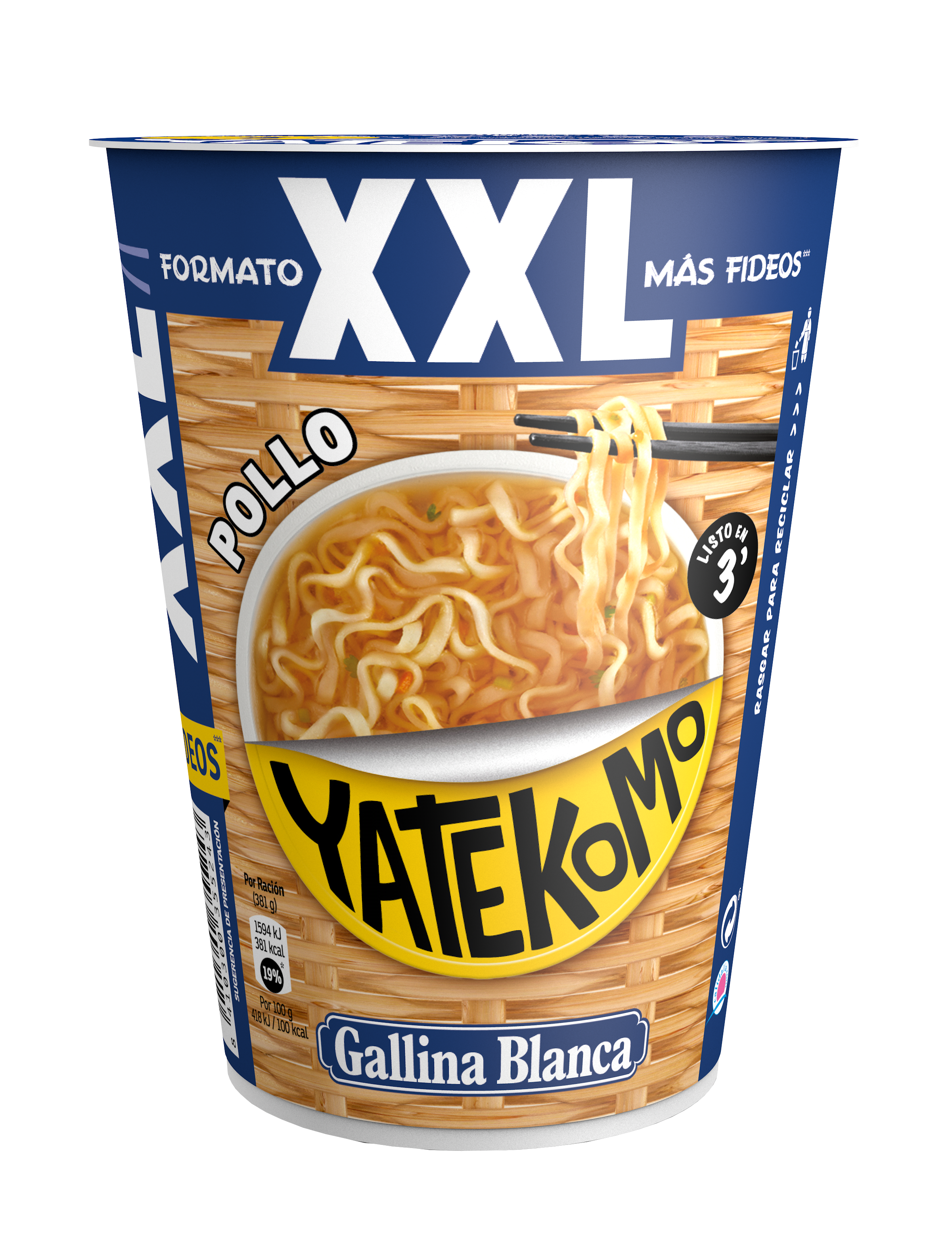 Yatekomo Pollo XXL