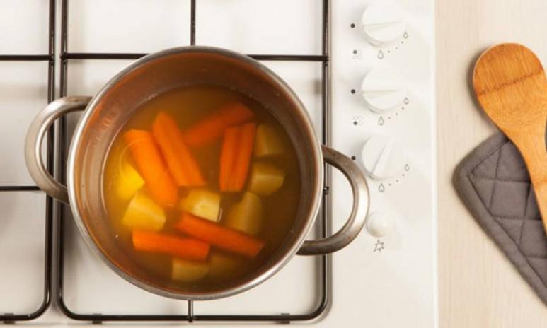 Crema de verduras más espesa