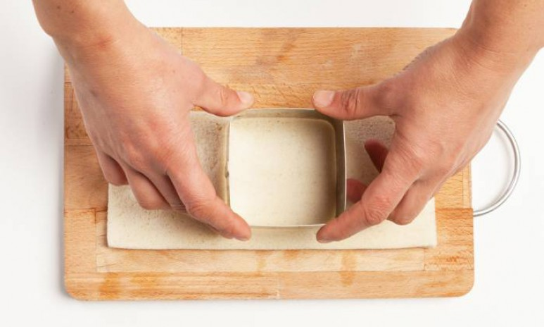 Corta el pan de molde fácilmente