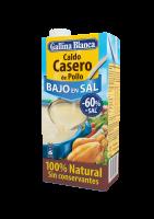 Caldo Casero de Pollo Bajo en Sal 100% Natural