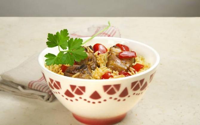 Receta de arroz al estilo murciano
