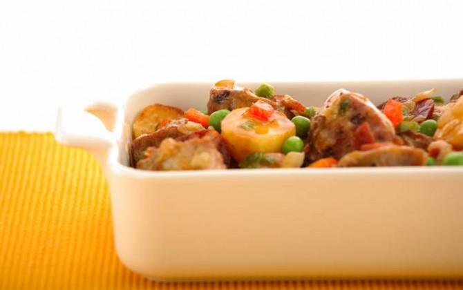 Receta de carne guisada con patatas