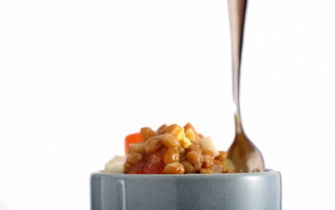 Receta de ensalada de lentejas con atún
