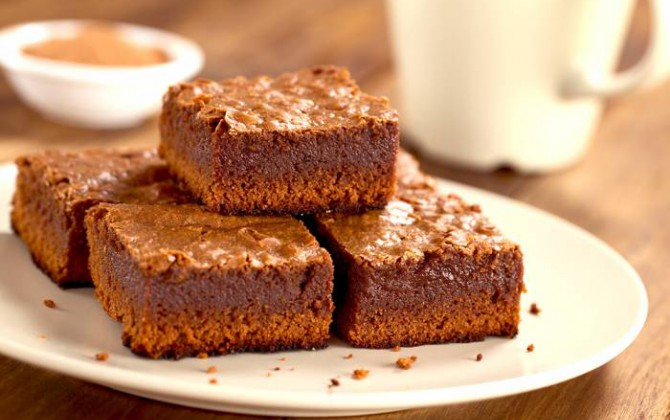 Brownies con cacao