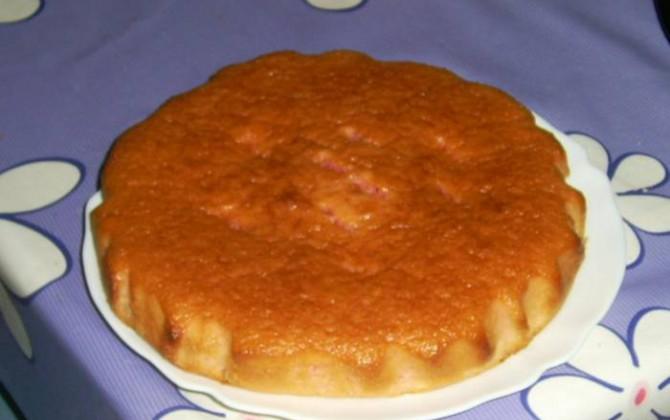 bizcocho de gelatina de fresa