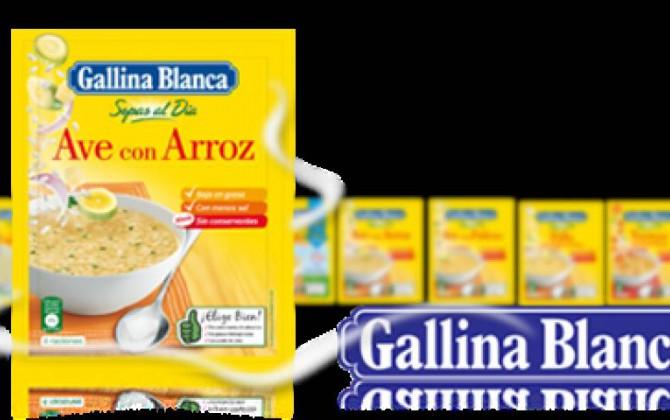 sopa de arroz con garbanzos