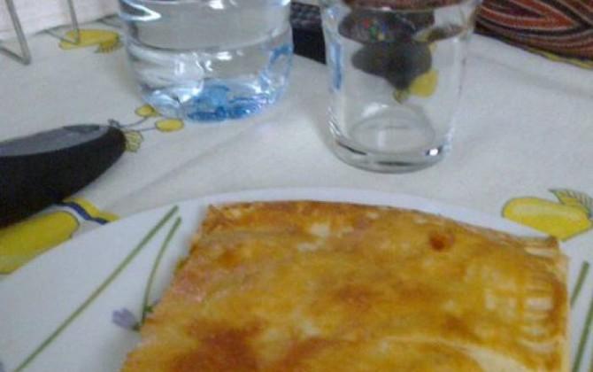 empanada de verduras y atún
