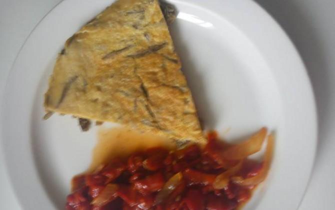 tortilla de cardillos