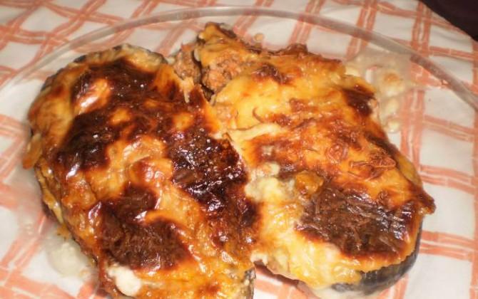 berenjenas rellenas de carne picada al horno