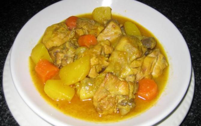 pollo guisado en amarillo para mad