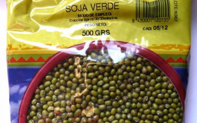 olla de soja verde