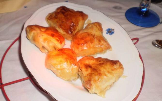 empanadillas de pasta filo