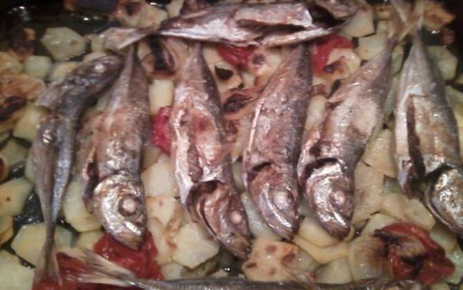 jureles al horno con patatas