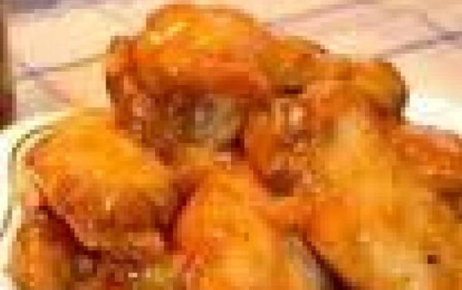 alas de pollo a la coca cola