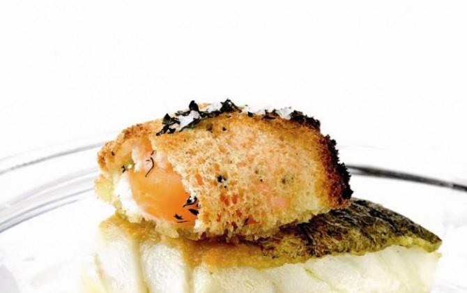 bacalao con patatas y huevo