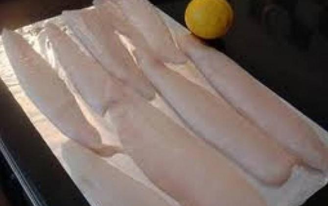 filetes de gallo de cena de verano