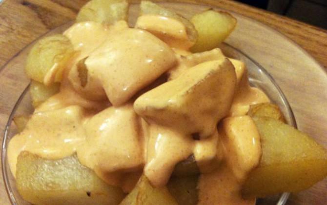 patatas bravas con gracia