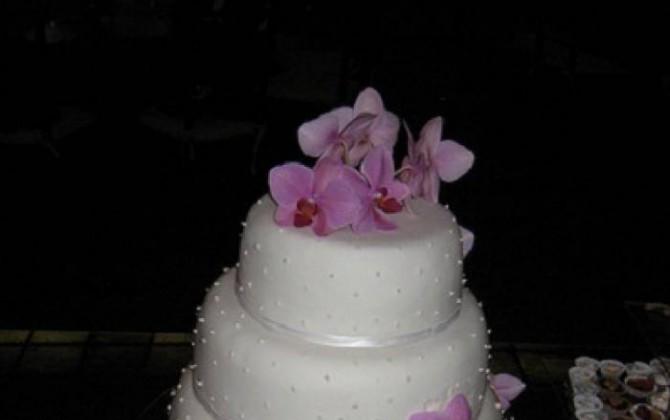 bizcocho de bodas