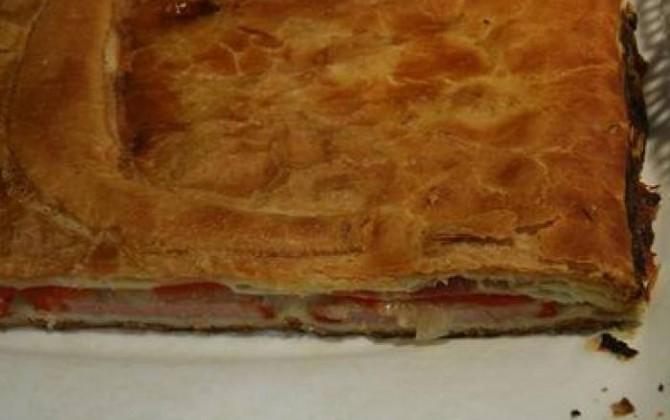empanada de dátiles y bacon