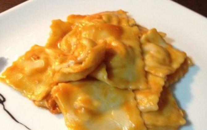 raviolis de pasta fresca casera