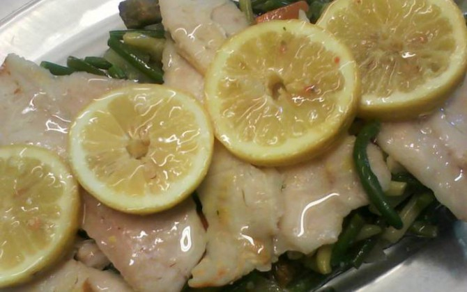 filetes de merluza al limón