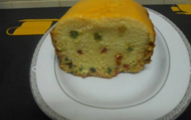 Plum cake en panificadora