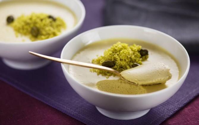 Mousse de pistacho