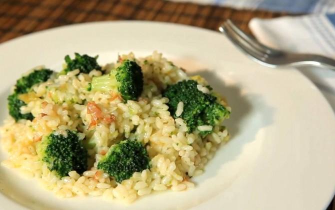 Receta de arroz con brócoli