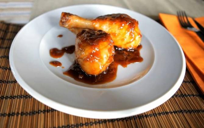 Receta de muslos de pollo con cola