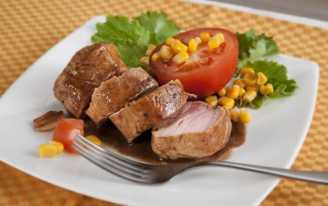 Receta de solomillos de cerdo con cola