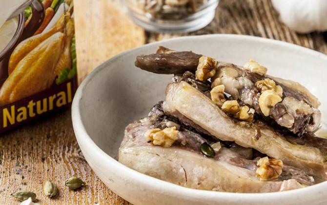Receta de cordero lechal con cardamomo y frutos secos