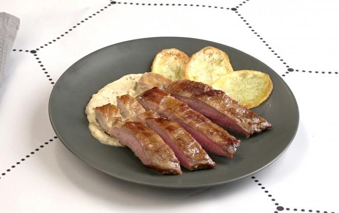 Bodegón de secreto de cerdo ibérico en salsa sin producto