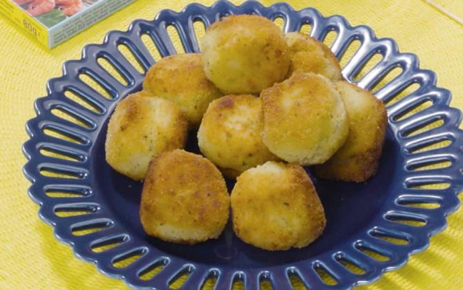 Croquetas de bacalao y patatas Gallina Blanca