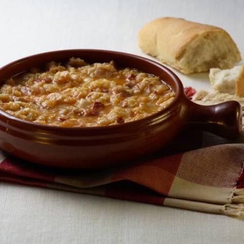 Receta de Sopa de Ajo con Chorizo