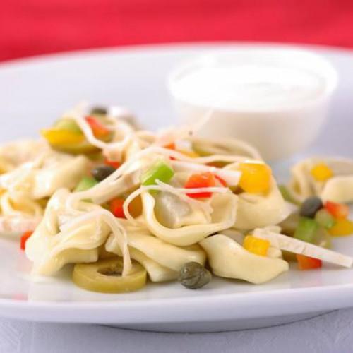 ensalada fresca de tortellini