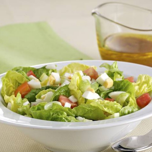 Como hacer una ensalada de lechuga para bajar de peso