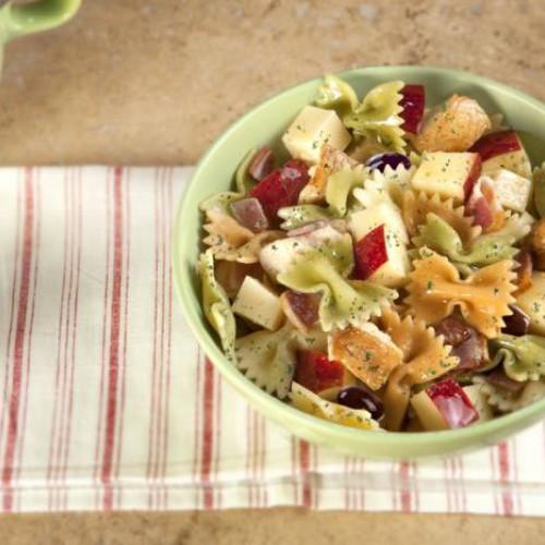 Receta de ensalada de pasta con manzana