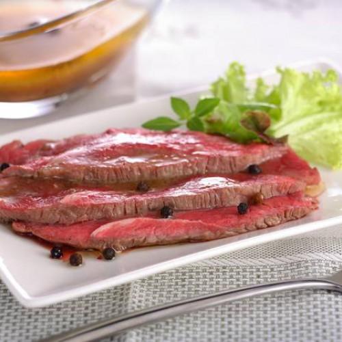 Lomo de ternera asado (rosbif)
