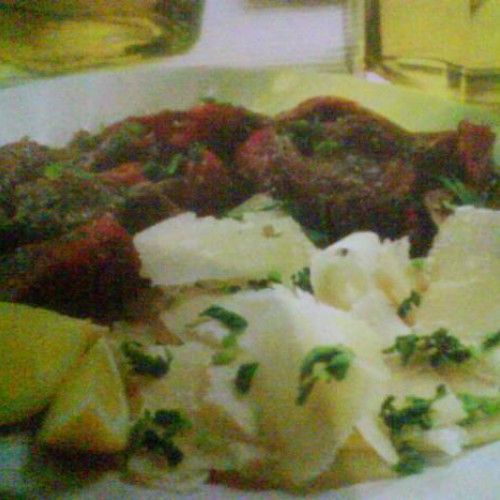 filete de buey marinado (carpaccio)
