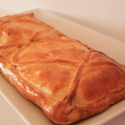 empanada de bacalao con espinacas