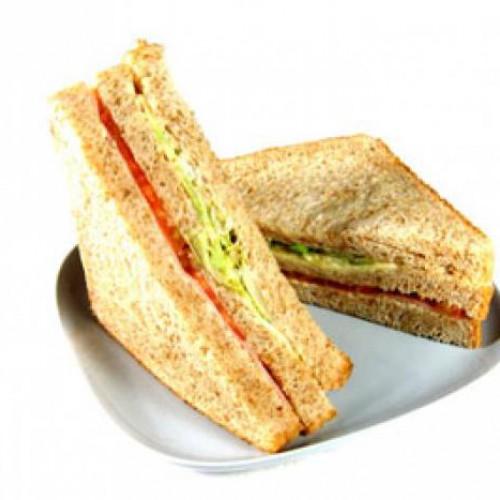 receta de sandwich vegetal con pan integral