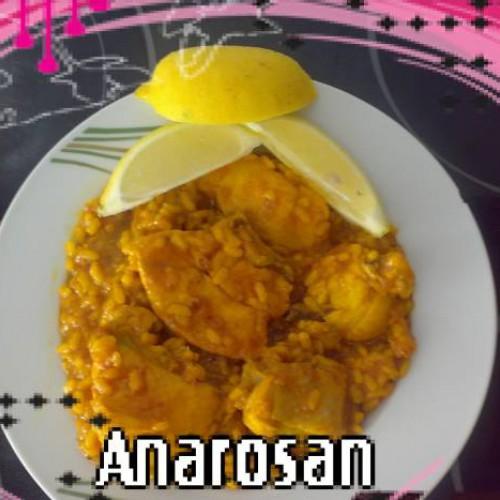 arroz con pollo al limón