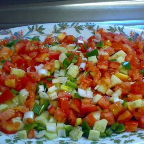 rico picadillo de verduras