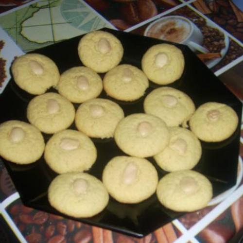 galletas de almendra y mantequilla